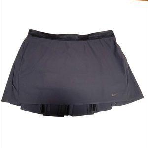 Nike Athletic Black Pleaded Skort Sz XL